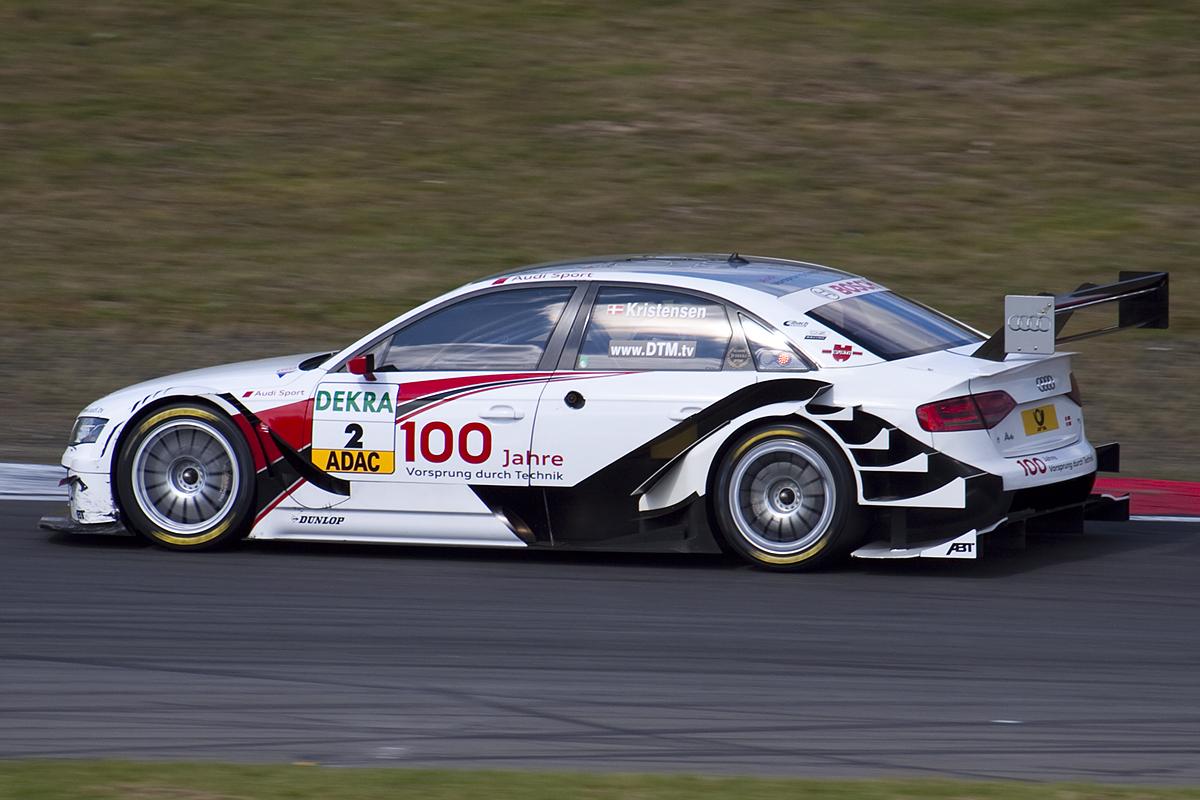 Race Cars - DTM 2009 - Audi A4