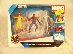 Toys R Us Exclusive - Marvel Universe - Spider-Man and his Amazing Friends #1 (JTKranix) Tags: friends toys us amazing spiderman r iceman his and marvel universe exclusive firestar marvels kranix