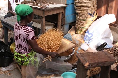 Kejetia - West Africa's biggest market...Kumasi, Ghana.