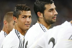Real Madrid vs Rosenborg (Kwmrm93) Tags: madrid santiago portugal sports sport canon real football spain fussball soccer espana adidas futbol esp ronaldo cristiano futebol league fotball ftbol fodbold bernabeu calcio deportivo fotboll pika realmadrid  deportiva liga esport fusball  fotbal jalkapallo  nona nogomet   espanyola   ligaespaola ligabbva  ligaespanyola  spainleague votebol