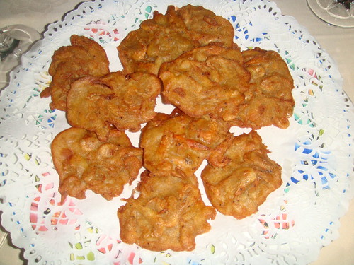 Tortillas de camarones