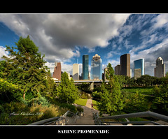 SABINE PROMENADE (ANVAR - RUSSIANTEXAN ) Tags: beautiful skyline nikon downtown texas houston wideangle russiantexan buffalobayou d700 theunforgettablepictures sabinepromenade saariysqualitypictures nikon14mm24mmf28gedifafs anvarkhodzhaev russiantexas svetan svetanphotography