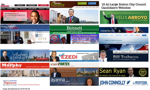 15 At-Large Boston City Council Candidate's Websites