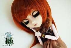 Ivy - Pullip Zuora (-Poison Girl-) Tags: red brown white ginger eyes doll closed dolls ivy pale redhead carrot pullip eyesclosed pullips poisongirl eyelids junplanning rewigged obistu zuora pullipzuora sbhm