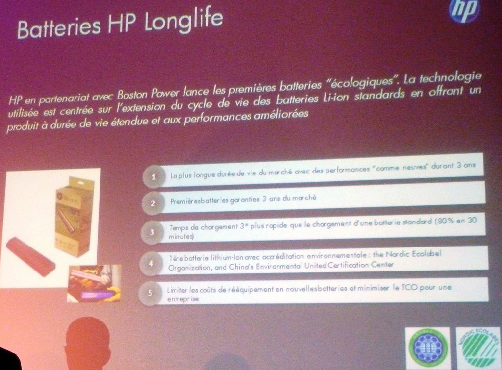 HP LongLife Batteries