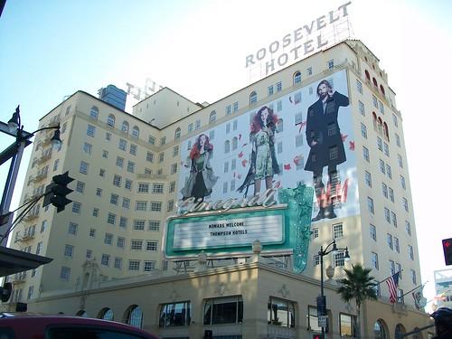 Roosevelt Hotel advertising