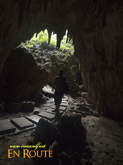 Luyang Cave End opening