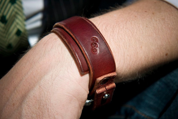 Leather Cuff  No 12a 01