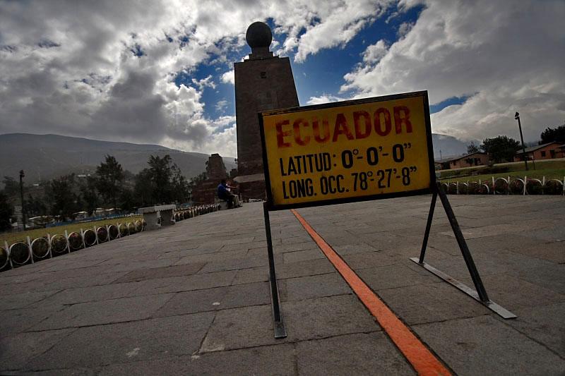 Mitad del Mundo, czyli środek świata