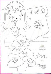 natal2 (Feltro by Angel Tutorial) Tags: natal modelo molde risco