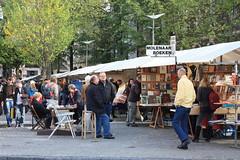 Feira de livros em Amsterdam: het Spui