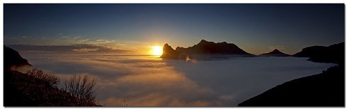 ...misty hout bay panorama... by - Just John -