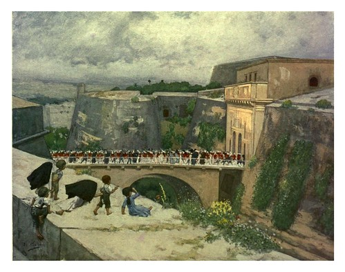 019-Puerta Real en la Valletta-Malta 1910- Vittoria Boron
