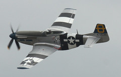 Mustang P51 (Jumping Jacques) At Southend Air Show May 2011