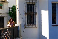 La Puerta de Segura (Jess Garrido) Tags: bridge people les ro river puente fiume pueblo rivire menschen sierra ponte persone pont brug serra brcke fluss gens riu rivier poble mense riosegura lapuertadesegura rosegura riusegura