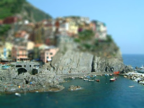 Tilt Shift By The Sea