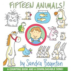 """Fifteen Animals"" by Sandra Boynton"