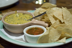 Hot Cheese and Spinach Dip