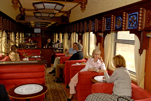 Train Chartering offers Golden Eagle for charter - Carriage bar car
