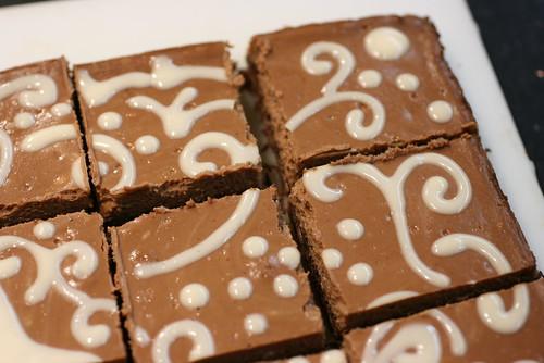 Chocolate Cappuccino Cheesecake Squares