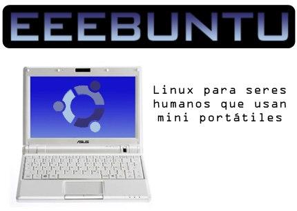 Como instalar Linux eeeBuntu en un Asus EeePC
