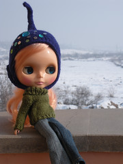 flora and the snow