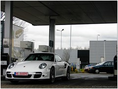 Turbo. (richardbrunsveld.nl) Tags: white cars netherlands canon germany volkswagen is stuttgart 911 automotive powershot turbo richard porsche vag s5 997 heerlen brunsveld