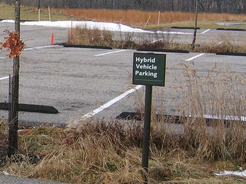 Hybrid Vehicle Parking