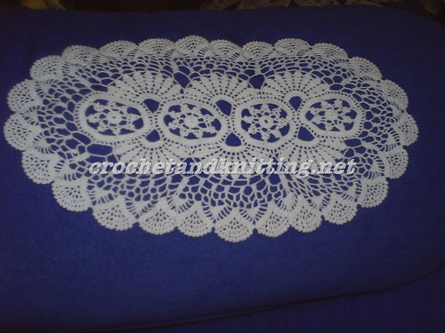 Tea Tray Lace Pattern