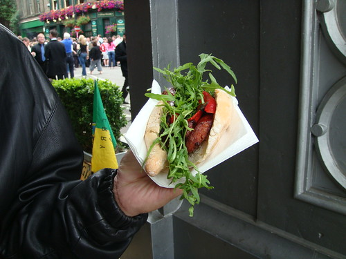 Borough Market Chorizo Sandwich