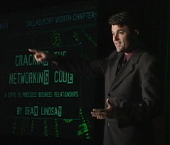 Business Speaker Video Dean Lindsay Author of Cracking the Networking CODE (deanlindsay2009) Tags: chicago sanantonio austin book humorous nashville houston business 2009 2010 socialnetworking networkmarketing 2011 fortune500 getajob networkingevent corporateentertainment multilevelmarketing changeagent businessspeaker corporatespeaker inspirationalspeaker corporatetrainer bestsellingauthor deanlindsey careertransition effectivecommunication salesspeaker deanlindsay humorouskeynotespeaker businessnetworkingbook bestsellingbusinessauthor recessionproofselling multilevemarketing saleskeynotespeaker funnyspeakeronsales conventionbreakoutspeaker tradeshowsuccess internationalbusinessspeaker bestbusinessnetworkingbook funnysalesspeaker salesleadershipspeaker salesmanagementspeaker sellingintougheconomy leadershipspeakerforbusiness progressagent howtogetreferrals dallaskeynotespeaker crackingnetworkingcode salesexpert funnybusinessspeaker bestsellingsalesbook dallasspeaker dallassalesspeaker dallasleadershipspeaker dallassalestraining motivationalsalesspeaker crackingthenetworkingcode keynotespeakervideo nationalhumorousspeaker freebusinessnetworkingtips businessnetworkingadvice networkingadvice internationalsalesmanagementconfrence dallasbasebusinessauthor dallasselling dallassalesworkshop dallassellinginadowneconomy dallasconventionspeaker dallasbusinessspeaker dallascorporatetrainer servinginadowneconomy