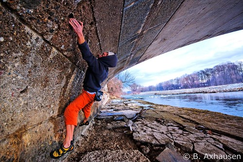 Climbing in Munich