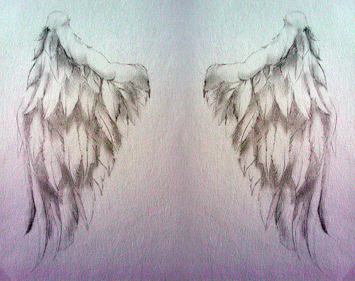 angel wing tattoos. Angel Wing Tattoos