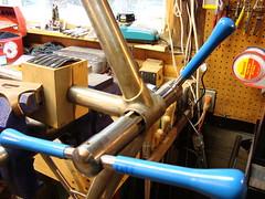 kurt23 (boedie cycles) Tags: mountain discbrake steel frame custom cycles lugs boedie