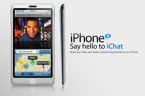 nuevo iPhone 2009 iSight