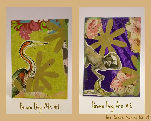 Brown Bag Atc Pair