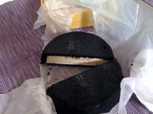 まっ黒チーズケーキ2