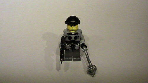 Marcus Fenix Gears of War hand made custom minifig