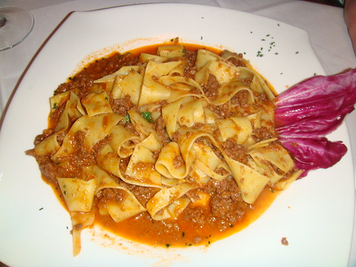 Papardelle alla amatriciana