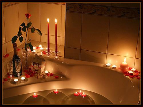 ديكورات حمامات حمامات رومانسية حمامات للعرائس اروع الحمامات