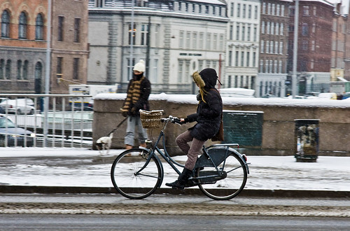 Casual Winter Cycling