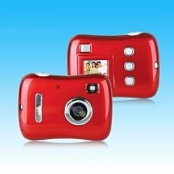 Digital Camera, 300K Pixels, Super Light And Slim With CSTN Screen