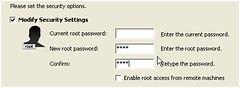 修改root的密码