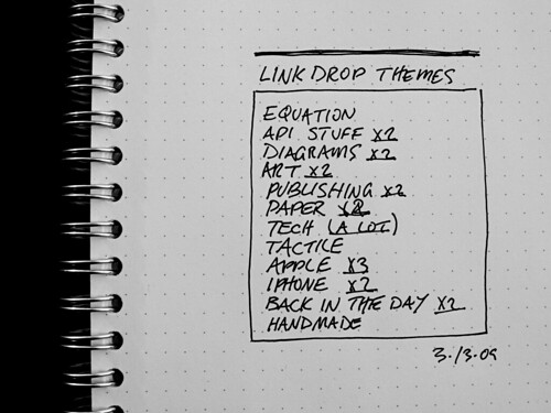 Link Drop Themes (03·13·09)