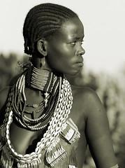 Ethiopia, Hamer woman