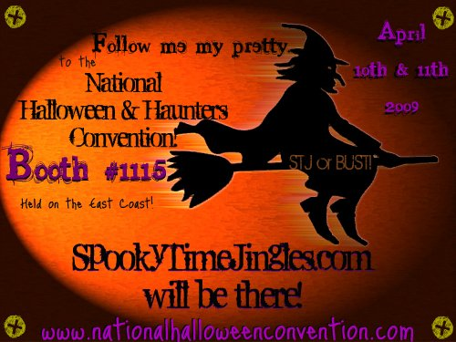 STJ Halloween Convention Badge!