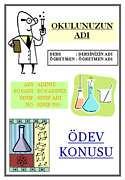 Kimya Ödev Kapağı - 3