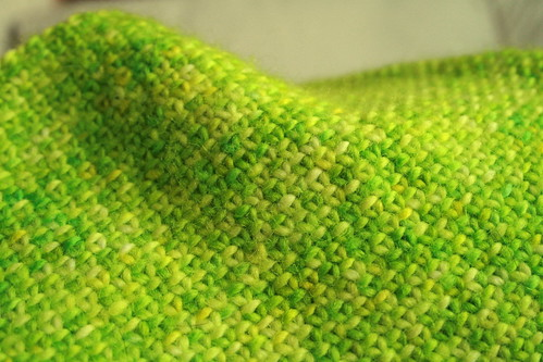 Linen stitch close-up