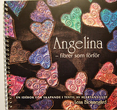 Angelina fibers – inspiration book in Swedish