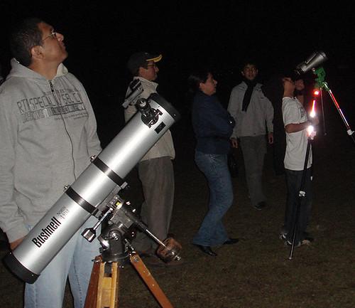 Astronomía en el Colegio Humboldt